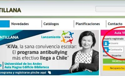 Inscríbete e ingresa a la plataforma digital de Santillana